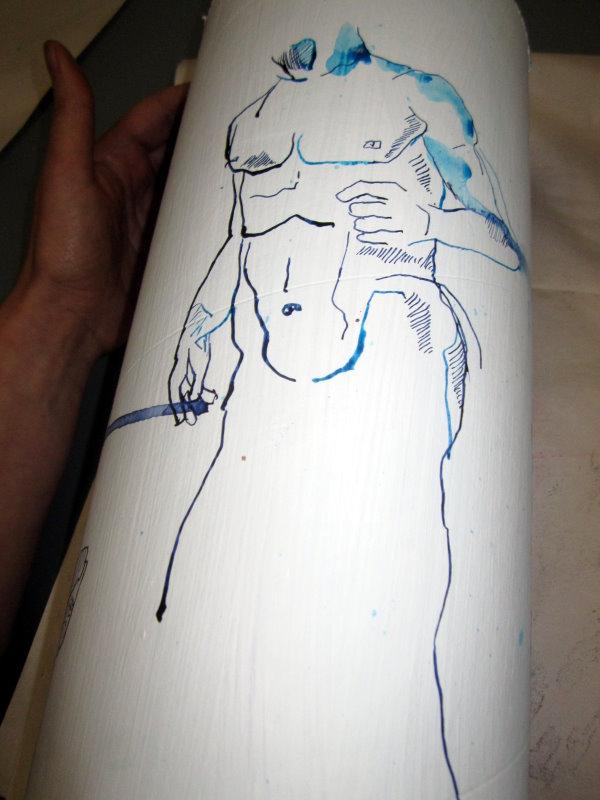 Ich zeichne keine Ketten (c) Zeichnung von Susanne Haun