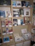 Es gibt im Museum Steglitz ein breites Angebot an Literatur (c) Foto von Susanne Haun
