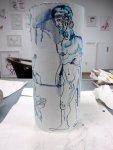 Prometheus der Titan (c) Zeichnung von Susanne Haun