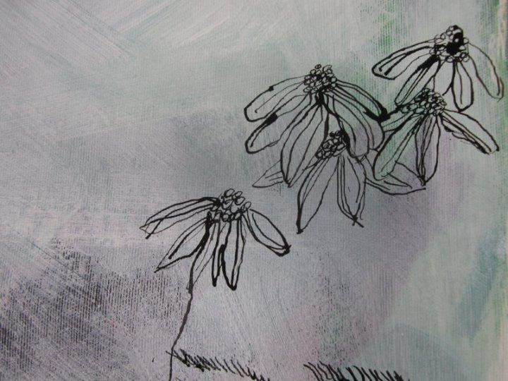 Detail Leinwand (c) Susanne Haun