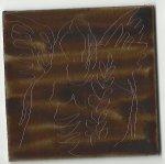 Miniaturengel in 5 x 5 cm Abdecklack (c) Susanne Haun