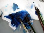 Alles Blau (c) Foto von Susanne Haun