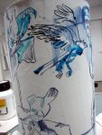 Der Adler schwingt in die Lüfte (c) Zeichnung von Susanne Haun