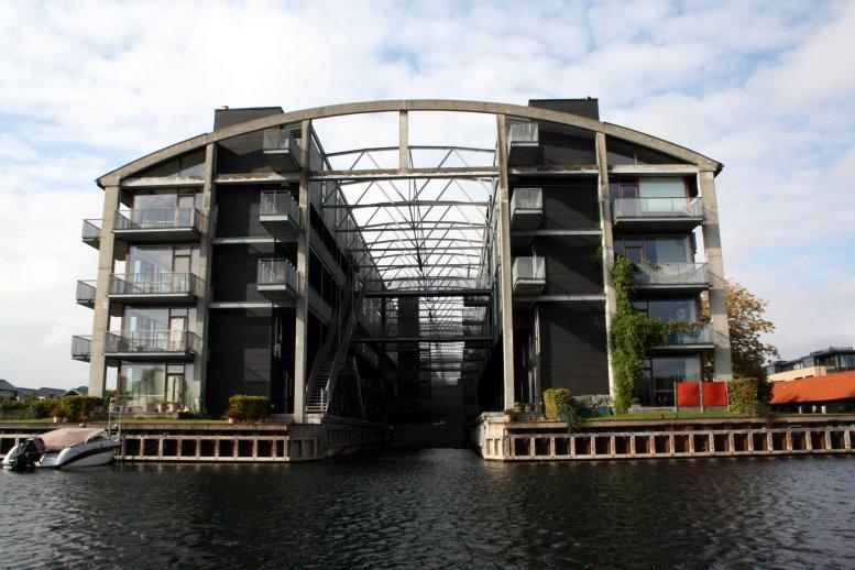 Moderne architektur eine hafenrundfahrt in kopenhagen for Moderne wohnhauser