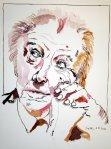Frank Lloyd Wright Tusche auf Bütten 40 x 30 cm (c) Zeichnung von Susanne Haun