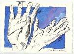 Blatt 5 Ein Quell der Gnade vom Himmel (c) Zeichnung von Susanne Haun