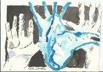 Blatt 7 Wie ein Quell der Gnade vom Himmel in mein Herz strömte (c) Zeichnung von Susanne Haun