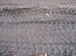 Spuren im Sand der B96 Version 4 (c) Foto von Susanne Haun