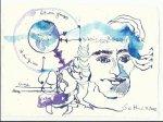 Blatt 35 Ein Philosoph erklärt (c) Zeichnung von Susanne Haun