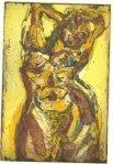 Üppig gelb (c) Radierung von Susanne Haun