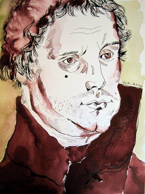2 Mein Sinnbild von Luther 2010 (c) Zeichnung von Susanne Haun