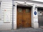 Das Mendelssohn Haus, Eingang, Sitz der irischen Botschaft (c) Foto von Susanne Haun