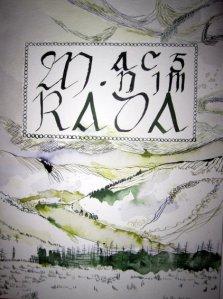 Titelrahmen der Tain (c) Zeichnung von Susanne Haun 2011