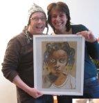 Claudia und Wibe mit Shorog (c) Foto von Susanne Haun