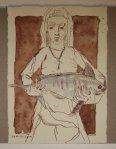 15 Heilige Jungfrau, bitte um den Tod (c) Zeichnung von Susanne Haun