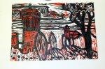 Zustandsdruck rote und schwarze Platte (c) Foto von Susanne Haun