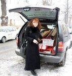 Susanne Haun geht ans Ausladen (c) Foto von Conny Niehoff