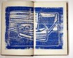 Boot und Meer blau (c) Künstlerunikatbuch von Susanne Haun