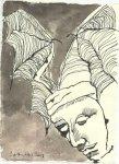 Blatt 76 Es ist der Teufel (c) Zeichnung von Susanne