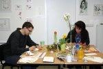 A. und V. in meinem Wochenendkurs (c) Foto von Susanne Haun