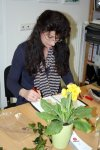 Viola war schon in der Sommerakademie letztes Jahr (c) Foto von Susanne Haun