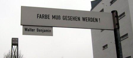 Am Berlin Museum - eine Straße Berlins (c) Foto von Susanne Haun