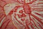 Detail aus der Holzplatte (c) Foto von Susanne Haun