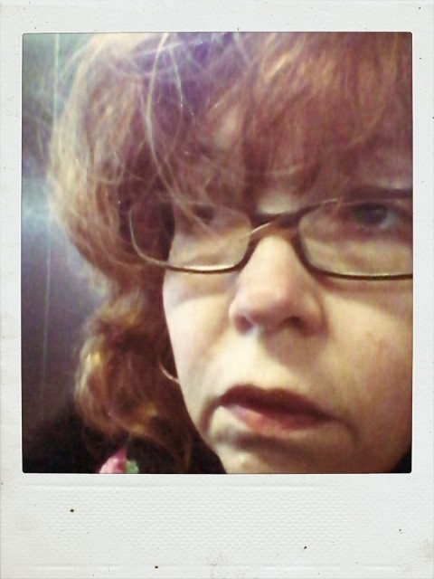 Selbst (c) Polaroid von Susanne Haun