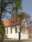 Bei schönem Wetter 2004 strahlt die Klosterkirche (c) Foto von Susanne Haun