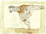 Blatt 104 Sein kleiner Kopf (c) Zeichnung von Susanne Haun