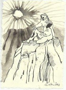 Blatt 110 Hellen Morgenstern (c) Zeichnung von Susanne Haun