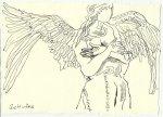 Blatt 117 Rangordnung der Engel (c) Zeichnung von Susanne Haun