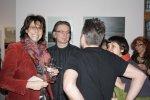 Impressionen zur Vernissage Weiss (c) Foto von Wibe