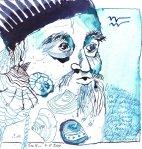 11 Wassermann (c) Zeichnung von Susanne Haun