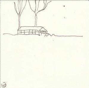 In der Ferne (c) Zeichnung von Susanne Haun