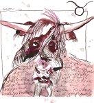 2 Stier (c) Zeichnung von Susanne Haun