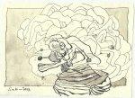 Blatt 119 Die Macht der Natur (c) Zeichnung von Susanne Haun