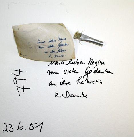 Blatt 17 Rückseite der Lehrerin (c) Foto von Susanne Haun
