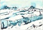 Blatt 2 Eislandschaft (c) Zeichnung von Susanne Haun