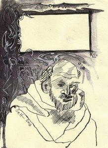 Blatt 4 Titelrahmen die Versuchung des heiligen Antonius (c) U.Schätzmüller u. S. Haun