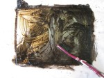 Die Spannung steigt, das Putzen der Platte (c) Foto von Susanne Haun