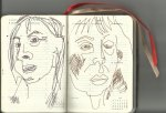 15. Woche Selbstportrait (c) Zeichnung von Susanne Haun