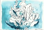 BBlaue Fresien Version 1 (c) Zeichnung von Susanne Haun