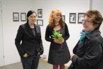 Die ersten Besucher (c) Foto von Johanna U.