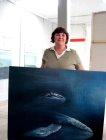 Tanja kauft die Wale (c) Foto von Conny Niehoff