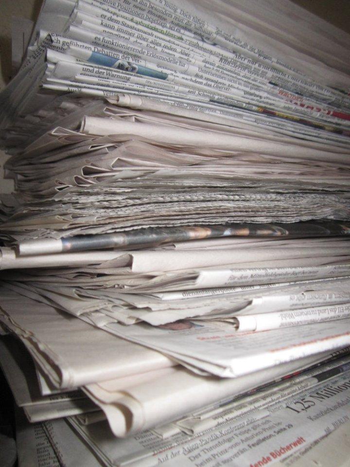 Unterlagen Papier Stapel Version 2 (c) Foto von Susanne Haun