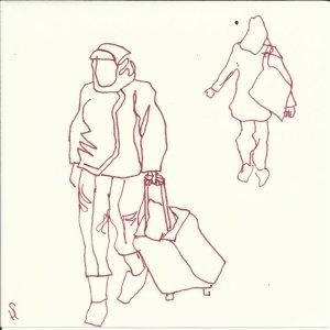 Passanten (c) Zeichnung  von Susanne Haun0002
