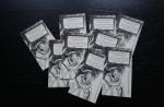 Visitenkarten mit der Adresse des Antoniusblogs (c) Foto von Susanne Haun