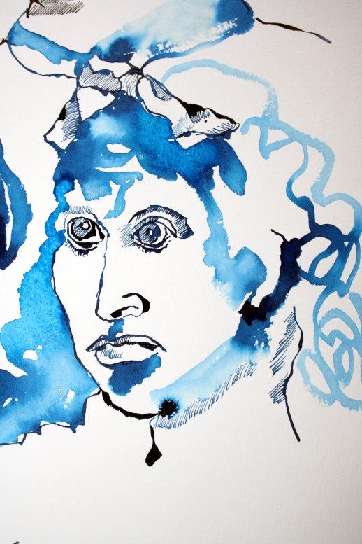 Meinem Sinnbild von Hedwig Dohm (c) Zeichnung von Susanne Haun