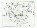 Vorzeichnung für die Radierung (c) Zeichnung von Susanne Haun